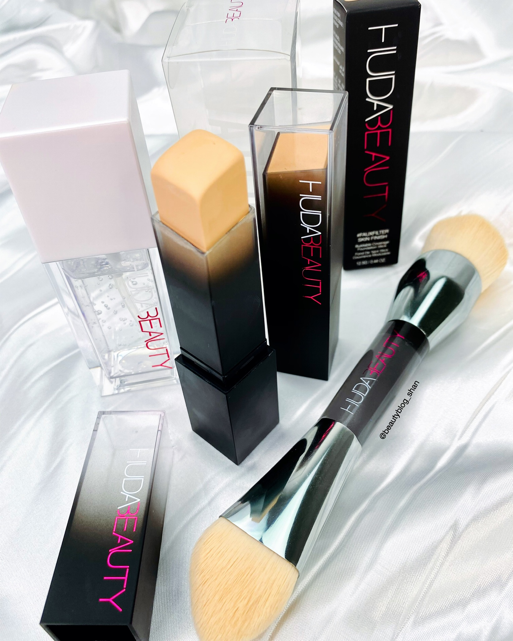 new huda beauty complexion products